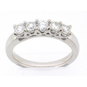 0.80ct Diamond Anniversary Band
