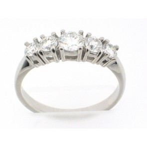 0.88ct Diamond Anniversary Band