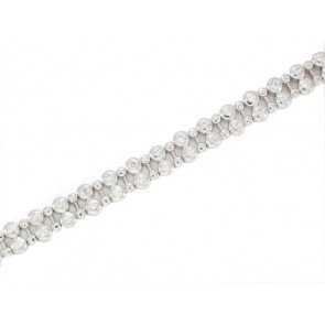 14K Dew-Drop Diamond Tennis Bracelet