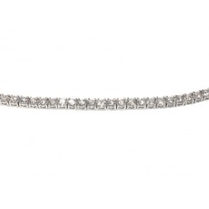 6.36ct Platinum Tennis Bracelet