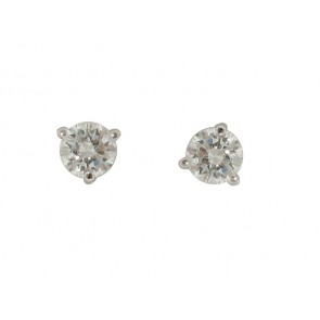 0.44CT Diamond Stud Earrings