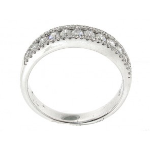0.58CT Diamond Anniversary Band