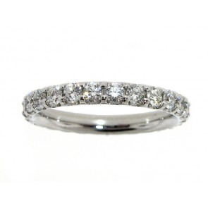 0.70ct Platinum Anniversary Ring