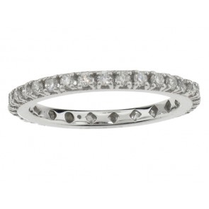 0.55ct Round Diamond Eternity Band