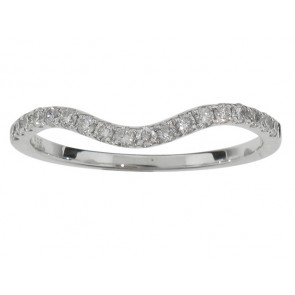 0.25ct Matching Diamond Band