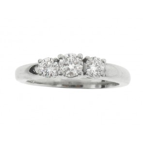 0.68ct Platinum Engagement Ring