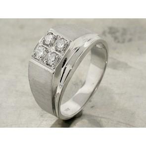 Vintage Design Men's Diamond Ring