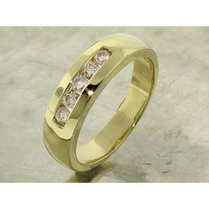 Classic Channel Set Diamond Ring for Men