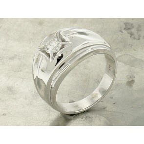 0.44ct Retro Solitaire Ring for Men