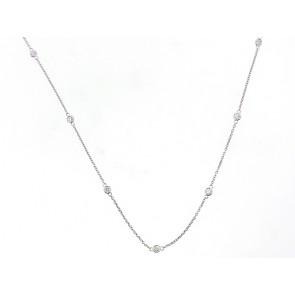 14K Diamond Chain Necklace
