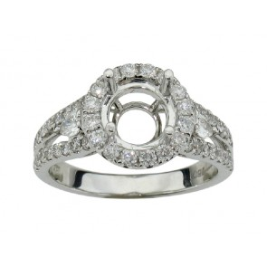 0.74ct Diamond Engagement Ring